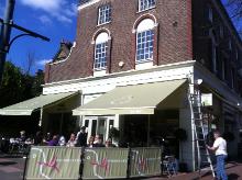 Restaurant awning