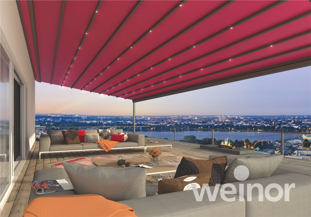 Weinor Pergotex Retractable Roof Systems for Commercial and Residential | Patio Awnings