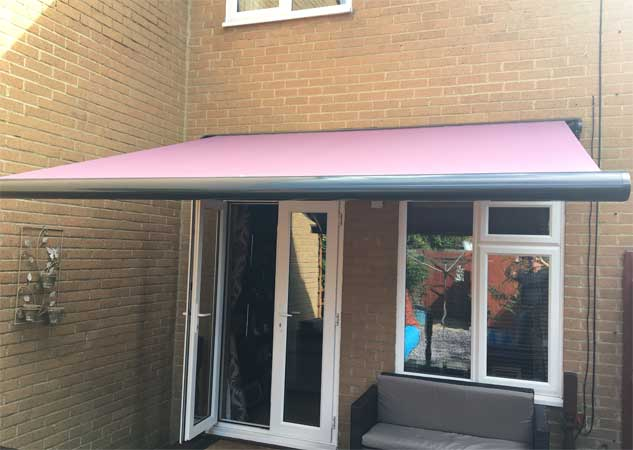 Cassita Ashford Pink Fabric