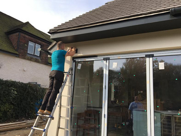 Awning Fitting In Saltwood Near Hythe Kent
