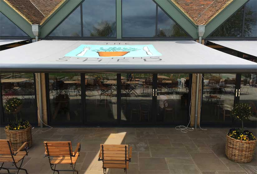 The Potting Shed Commercial Awning