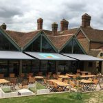The Potting Shed Commercial Opal Design Awning